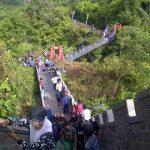 Janjang Saribu, Pesona Great Wall di Koto Gadang